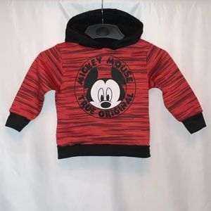 Disney Mickey Mouse Toddler Boy Hoodie Sweater